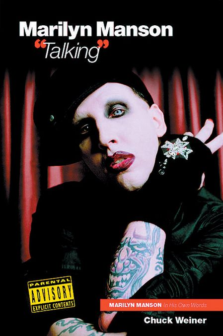 """Talking"" – MARILYN MANSON in His Own Words cover"