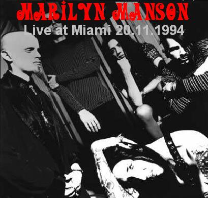 Live at Miami 20.11.1994 cover