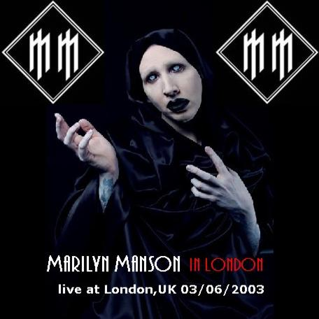 Marilyn Manson in London cover
