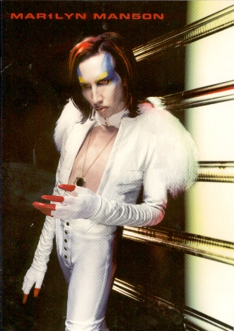 Mechanical Animals Tour cover