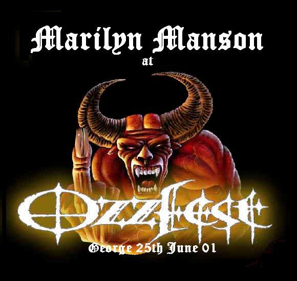 Ozzfest, George 25th June 2001 cover
