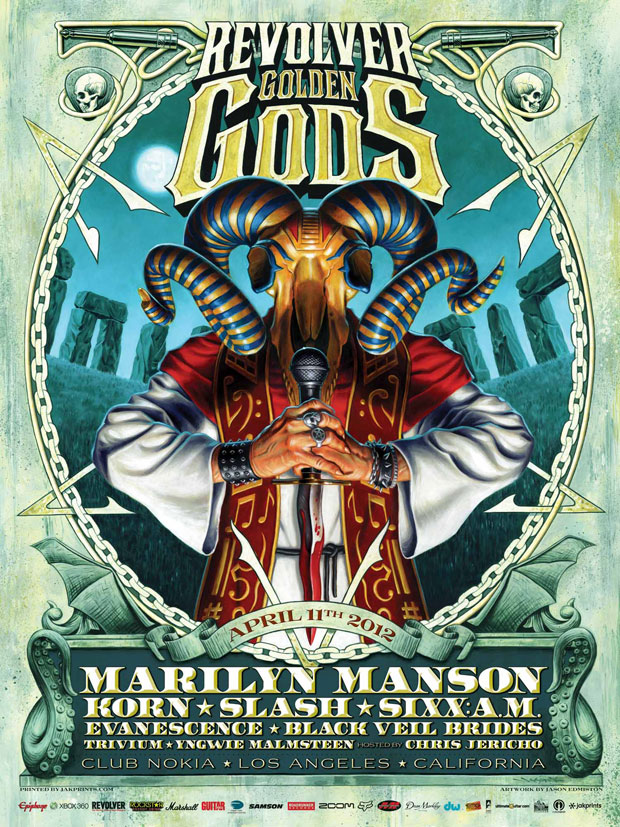 Marilyn Manson @ The Golden Gods 2012