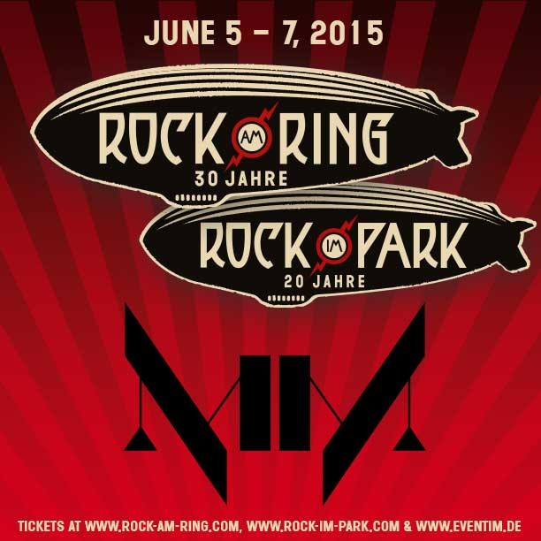 June 5, 2015 performance at Rock Am Ring, Mendig, Germany.