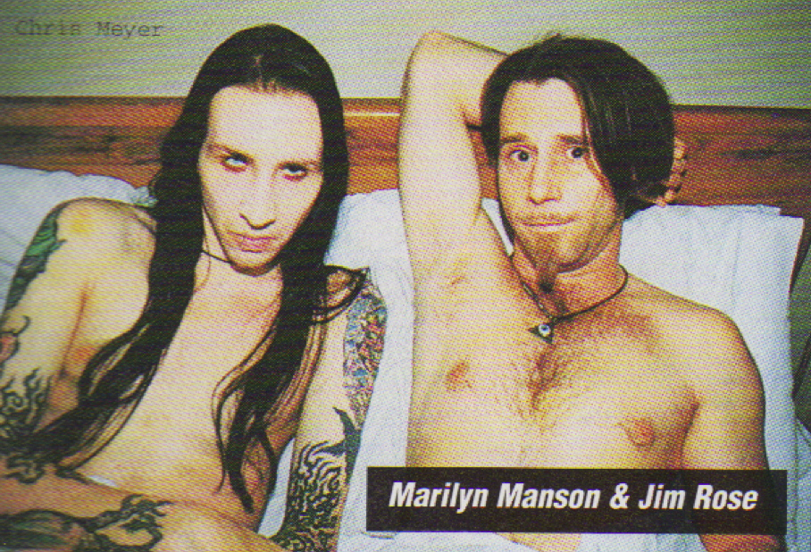 Marilyn Manson and Jim Rose