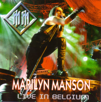 Live in Belgium cover