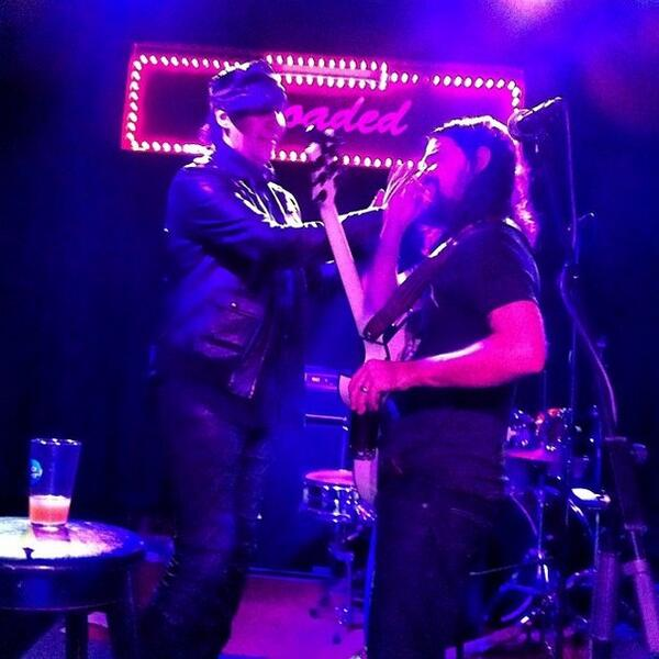 Marilyn Manson and Shooter Jennings