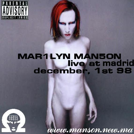 Live at Madrid - December, 1st 98 cover