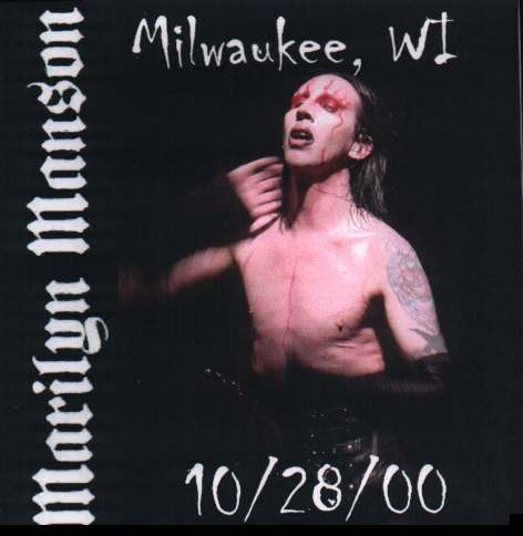 Milwaukee, WI - 10/28/00 cover