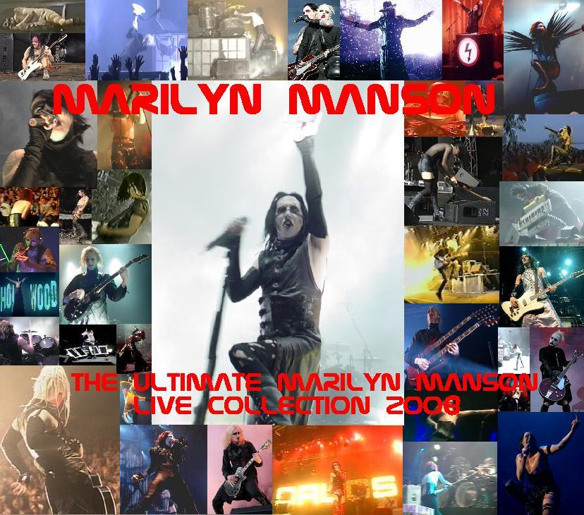 The Ultimate Marilyn Manson Live Collection 2008 cover