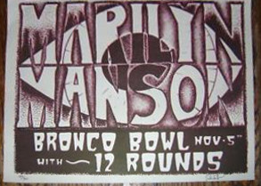 November 5, 1998 performance at The Bronco Bowl in Dallas, Texas, USA.