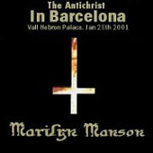The Antichrist in Barcelona - Vall Hebron Palace, Jan 28th 2001 cover