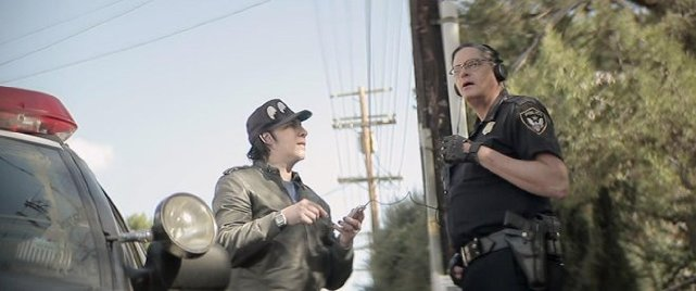 Marilyn Manson in 'Wrong Cops'
