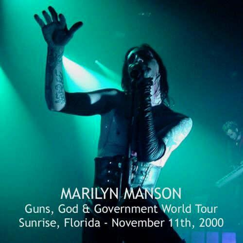 Guns, God & Government World Tour - Sunrise, Florida - November 11th, 2000 cover