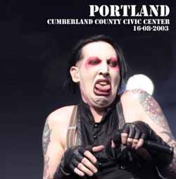 Portland Cumberland County Civic Center 16-08-2003 cover