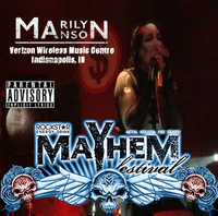 Verizon Wireless Music Center - Indianapolis, IN - Mayhem Festival cover
