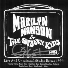 Live and Unreleased Studio Demos 1993 cover