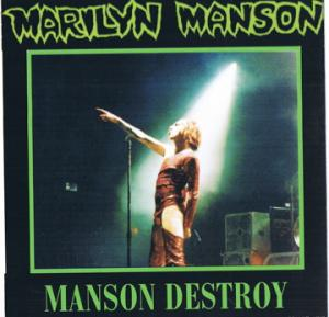 Manson Destroy cover