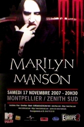 November 17, 2007 performance at Zenith Sud, Montpellier, France.