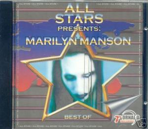 All Star Presents: Marilyn Manson - Best of cover