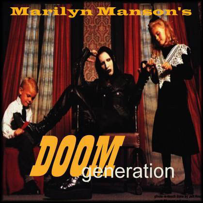 Marilyn Manson's Doom Generation cover