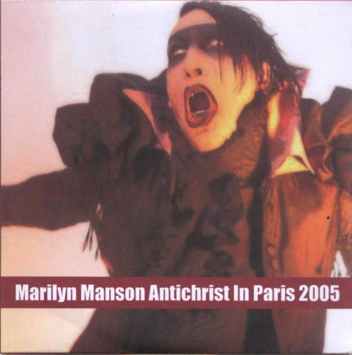 Antichrist in Paris 2005 cover