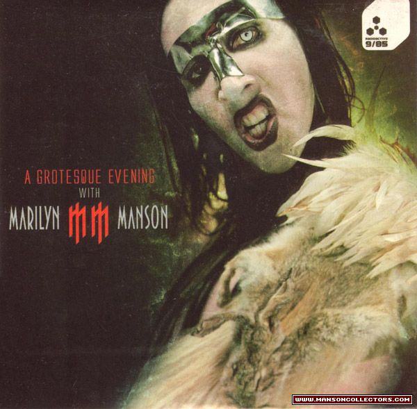 A Grotesque Evening with Marilyn Manson cover