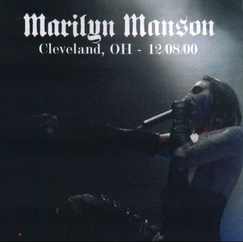 Cleveland, OH -12/08/00 cover
