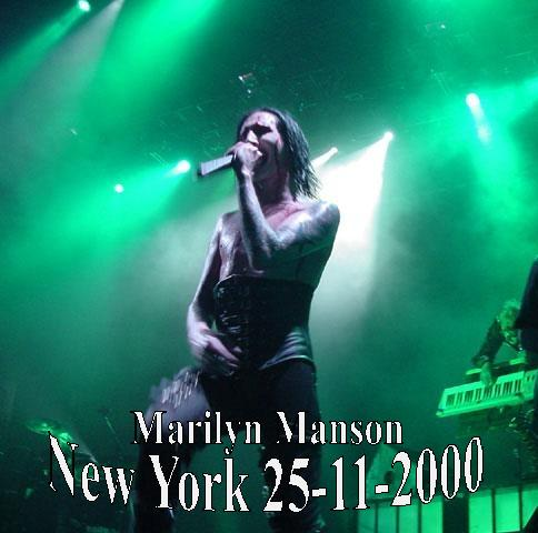 New York 25-11-2000 cover