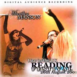 Live in the UK – Reading Festival – 26th August 2001 cover