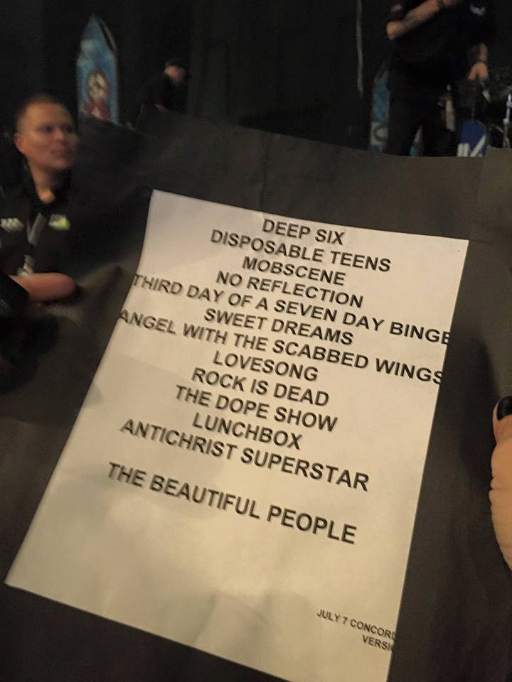 July 7, 2015 performance at Concord Pavilion, Concord, California, USA.